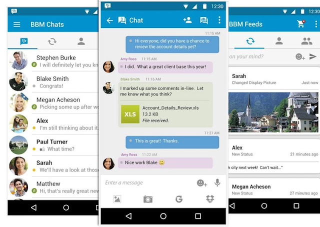 BBM Official For Android v2.11.0.18 Apk