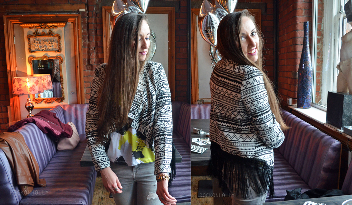 :ucy in Catwalk Killa Aztec Jacket