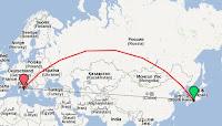 distanza Roma-Kyoto: 9710 km