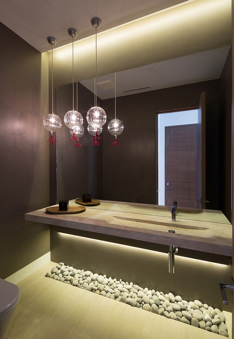 Modern bathroom elements