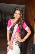 Shaddha das glamorous photos in saree-thumbnail-15