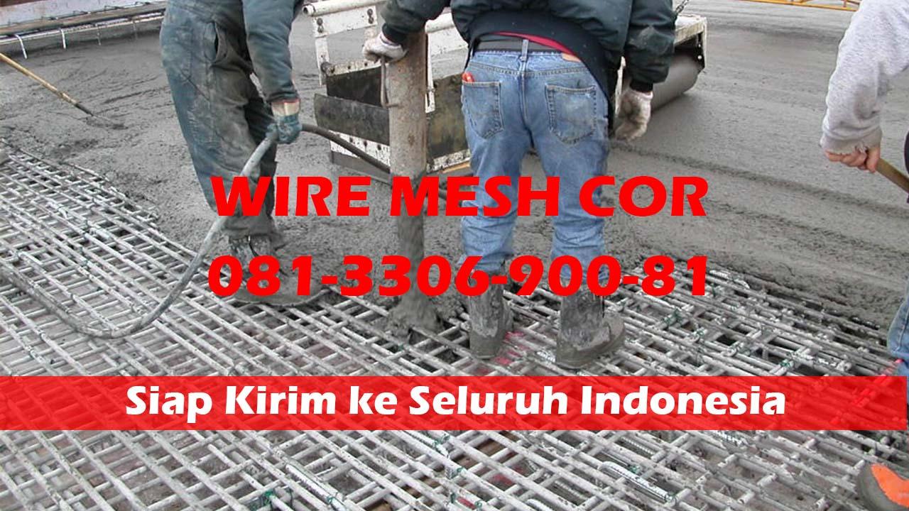Pabrik Wiremesh Per Meter Kirim ke Sidoarjo Jawa Timur