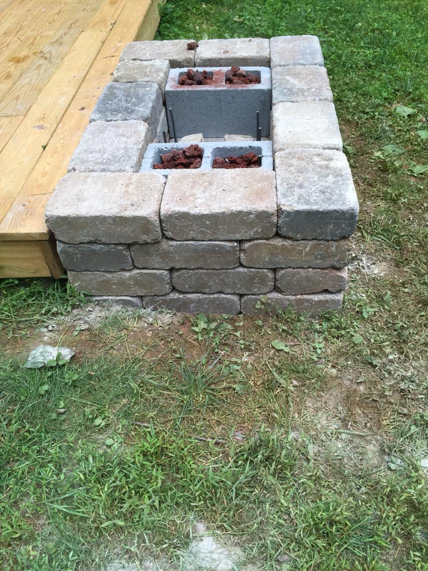 Simple DIY Fire Pit 1001 Goals