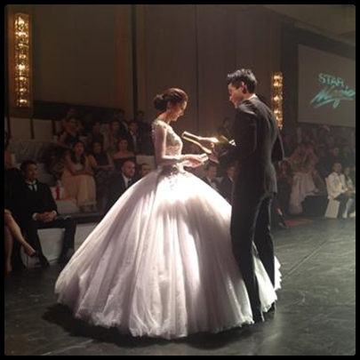 Kim Chiu and Xian Lim hailed Fabulous Pair in the 7th annual Star Magic Ball 2013