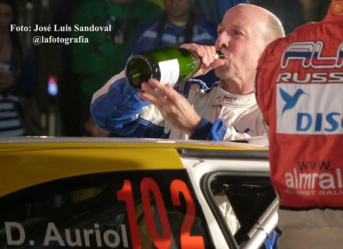 abandono rally islas canarias 2015 Didier Auriol