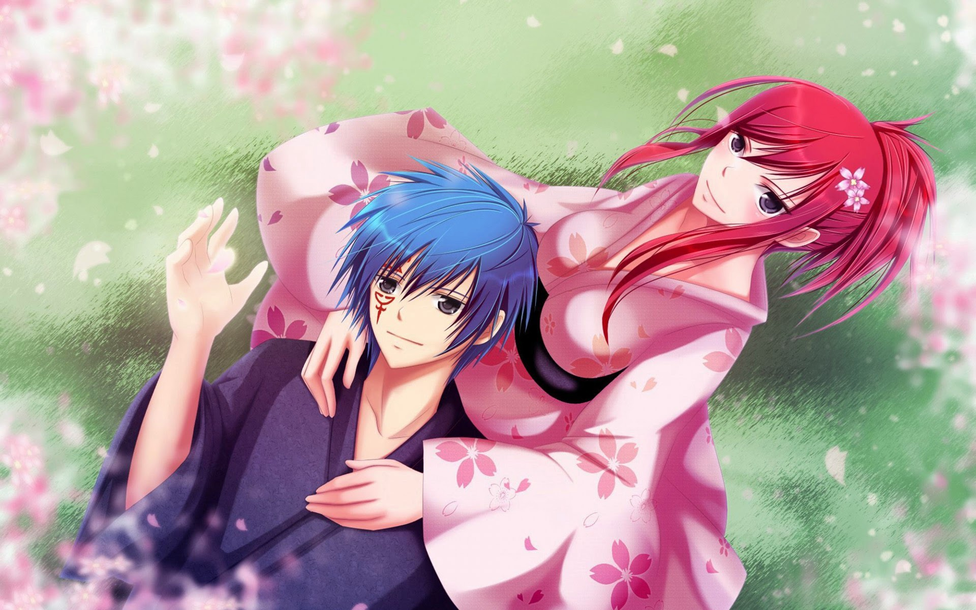 Erza Scarlet and Jellal Fernandes 7p Wallpaper HD