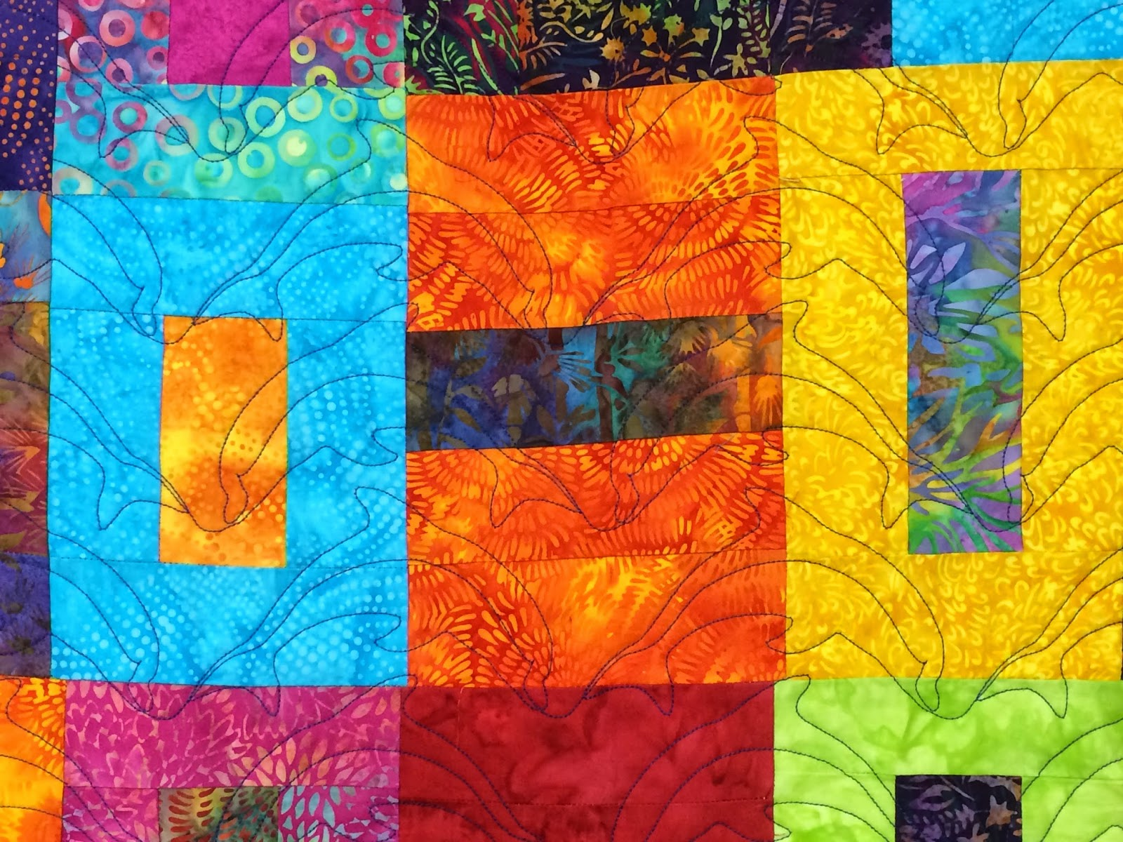 Mrs. Gross Island Party Quilt