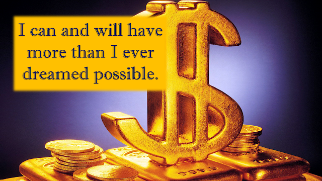 Affirmations for money wealth and prosperity