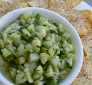 cucumber and lime salsa