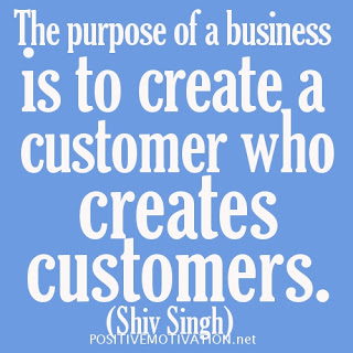Purpose of a real Business...