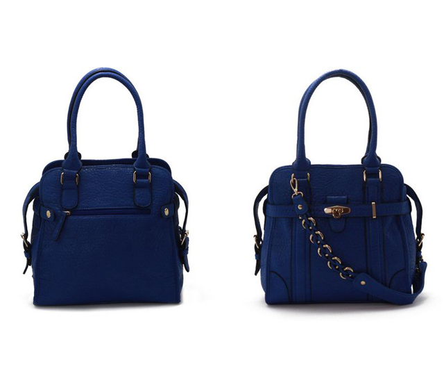 vanlaced avenue auren blue tote bag