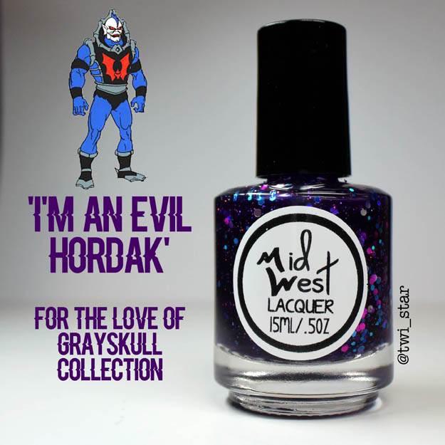 MidWest Lacquer For The Love of Grayskull He-Man I'm An Evil Hordak