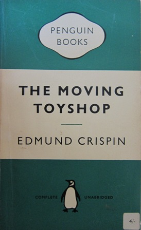 an analysis of the characters in edmund crispins the moving toyshop Gervase fen (creator: edmund crispin) crispin is actually taken from a character in one war the moving toyshop but i don't suppose crispin was too.