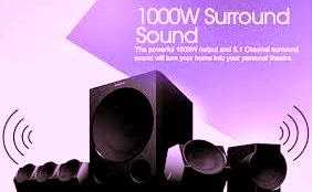 The Sony HT-IV300 is able to provide a sound output of 1000W. Sony HT- IV300 is a home theater
