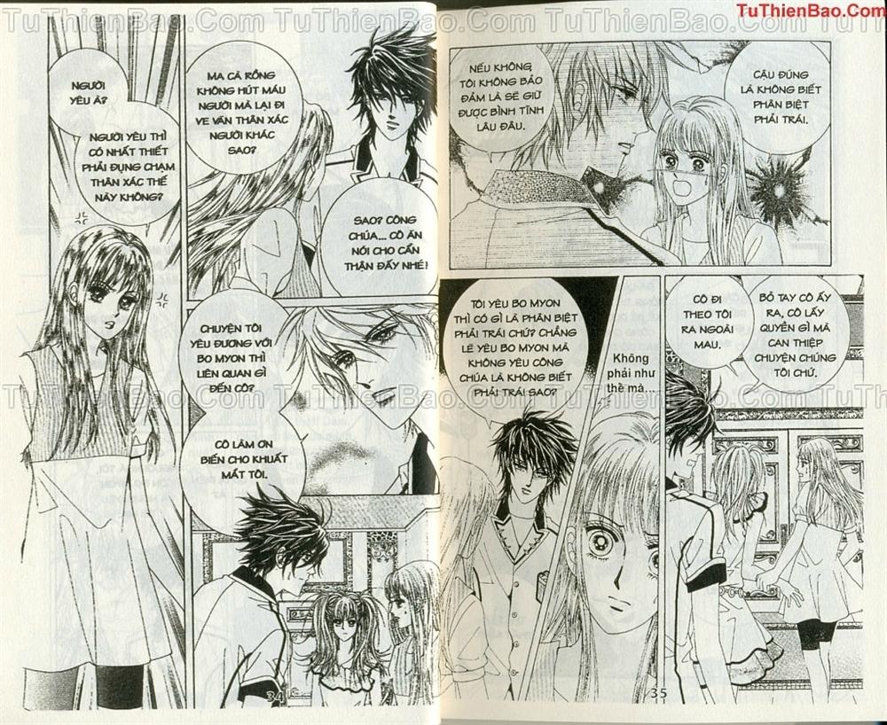 Ma cà rồng hộ mệnh Chapter 10 - Trang 16