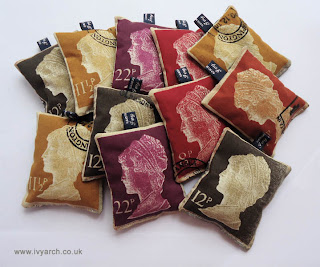 stamp lavender bags by Ivy Arch