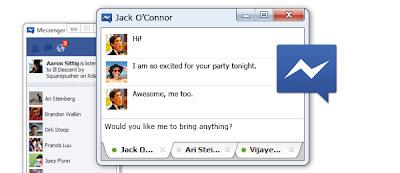 Aplikasi Facebook Massenger komputer