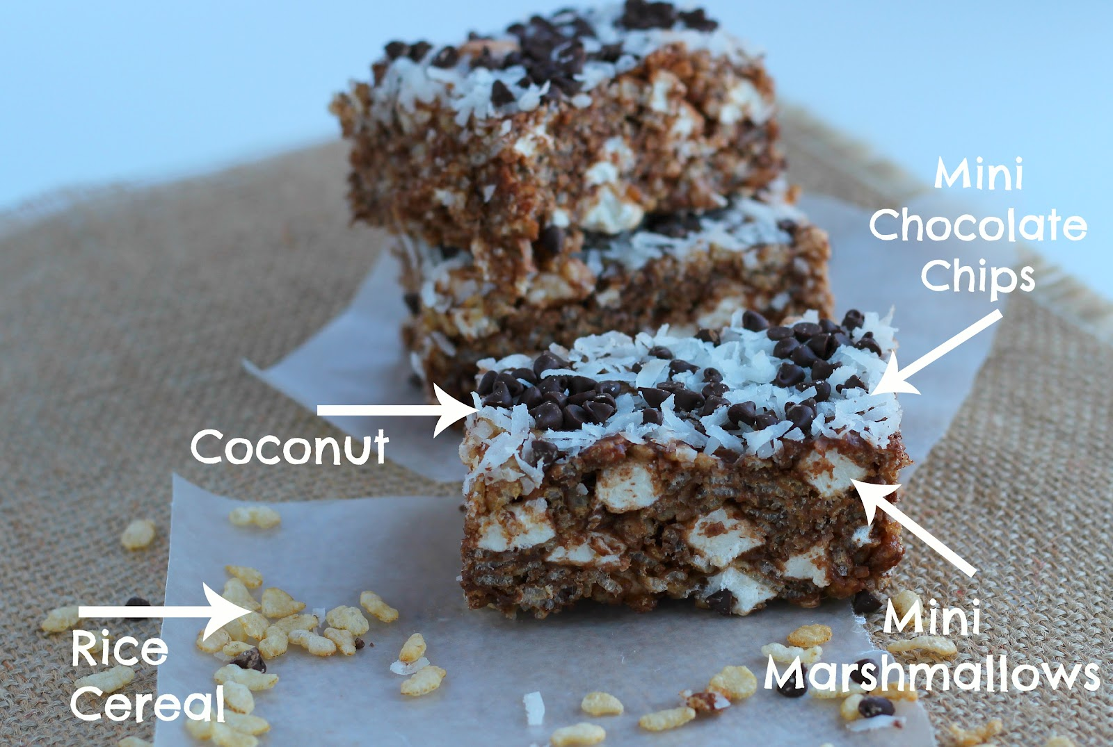 Kitchen Simmer: Chocolate and Coconut Rice Krispies Treats