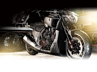 2013 Yamaha VMAX Hyper Modified Ludovic Lazareth Gamabr Motor 1