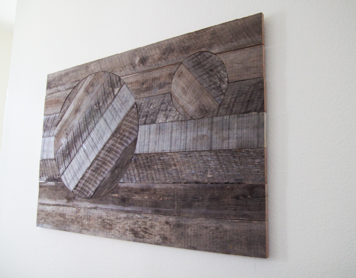 Reclaimed Wood Wall Art | Everyday Shopaholic