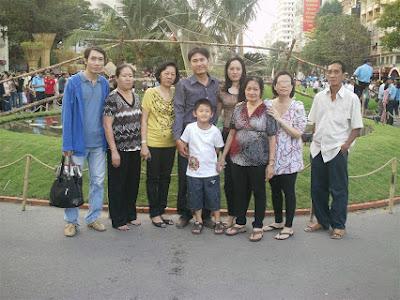 Gia đình anh Mai Tuấn Huy