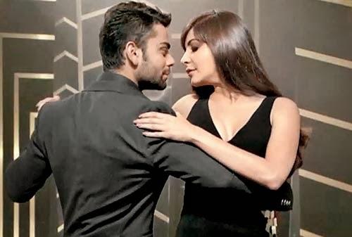 Anushka Sharma kisses Virat Kohli Anushka Sharma Kiss Virat Kohli