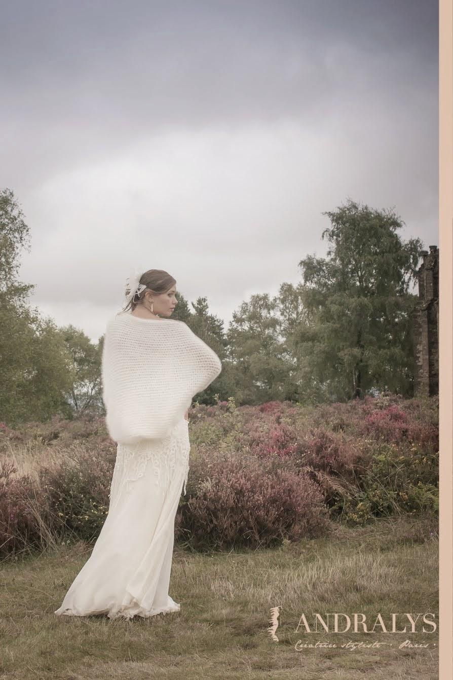 Robe de mariée années folles
