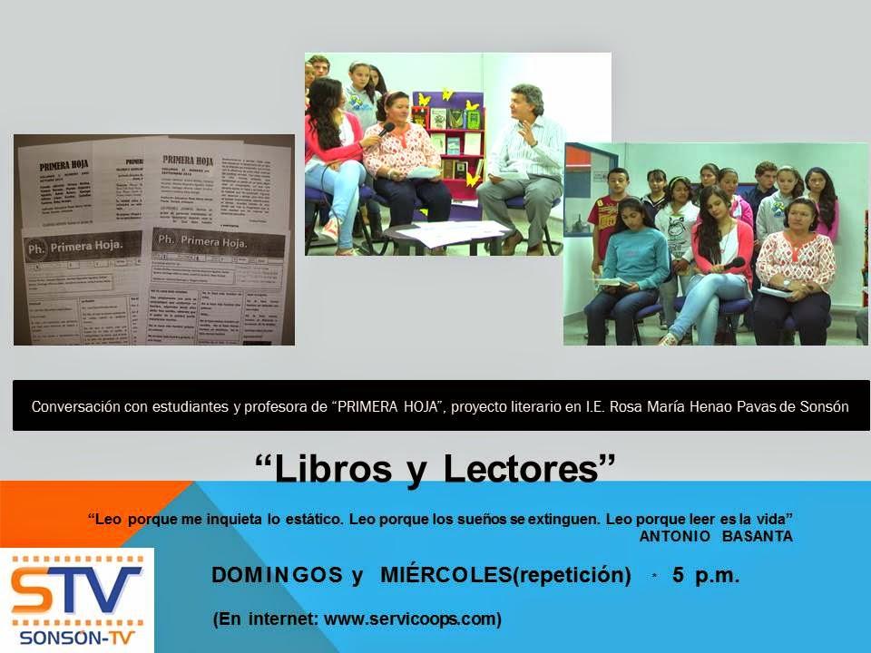 """EN TV: """"Libros y Lectores"""""""