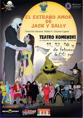 Jack y Sally arequipa 2016
