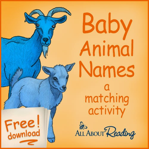 http://blog.allaboutlearningpress.com/baby-animal-names/