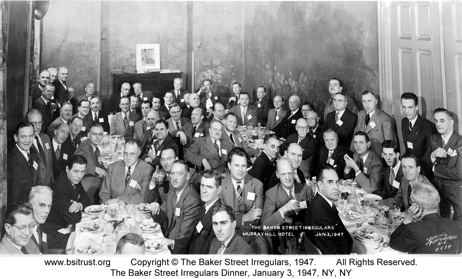 The 1947 BSI Dinner group photo