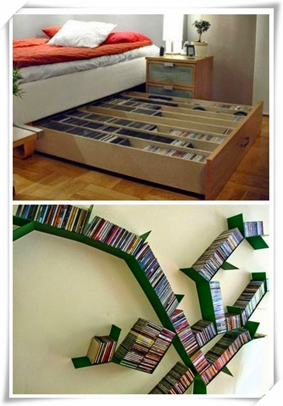 Other Cool DVD Storage Ideas