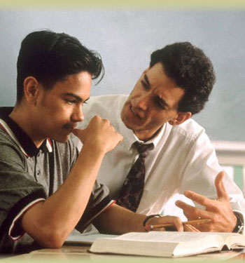 Profesor gay y estudiante gay