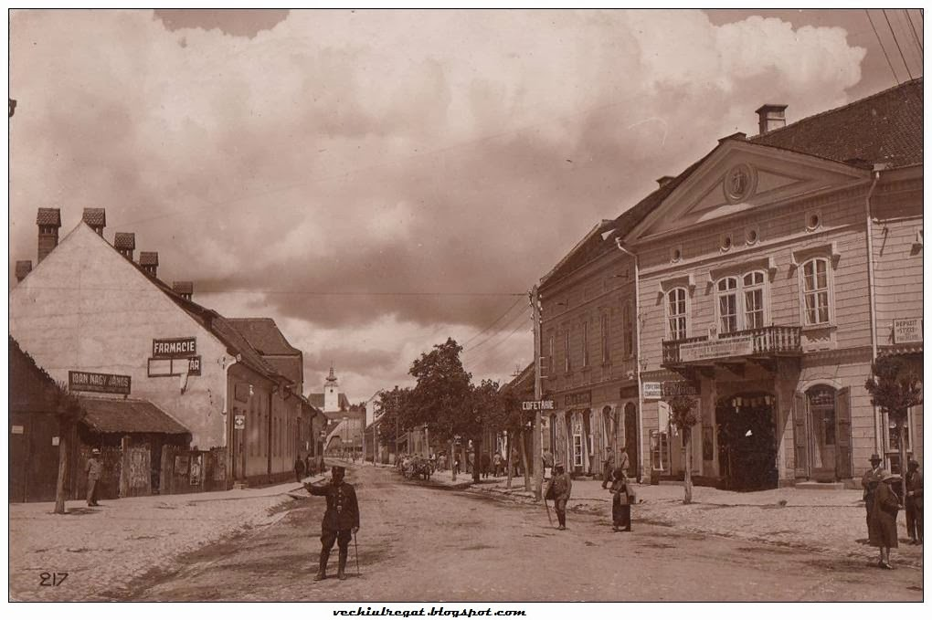 Centrul orasului Sfantul Gheorghe