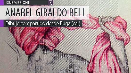 Dibujo. Cuerpos de ANABEL GIRALDO BELL