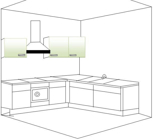 Planos arquitectonicos planos for Planos de cocinas 4x4
