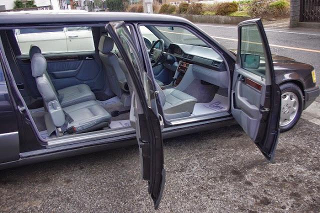 mercedes w124 limousine