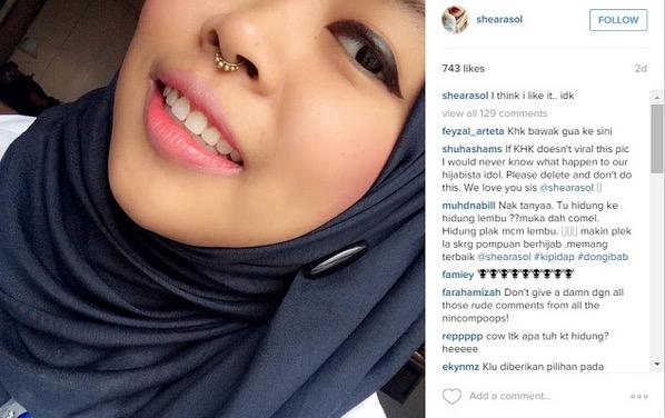 Pengacara TV Tindik Subang di Hidung Dipanggil Lembu