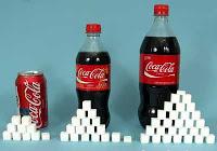 azúcar en la coca cola