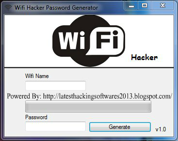 Wifi Hacker Password Generator 2014 Free Download (Wifi ...