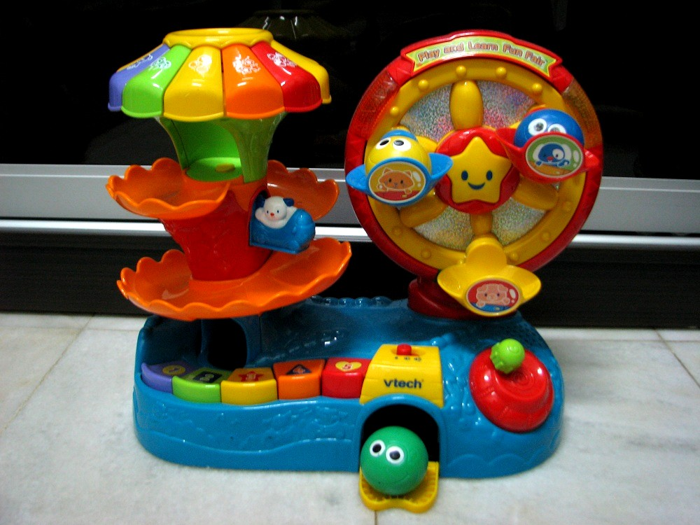 Kiddy Parlour Sold Gallery: Vtech Play and Learn Fun Fair