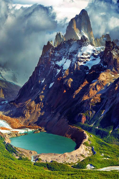 Mount Fitz Roy Dmitry Pichugin Argentina