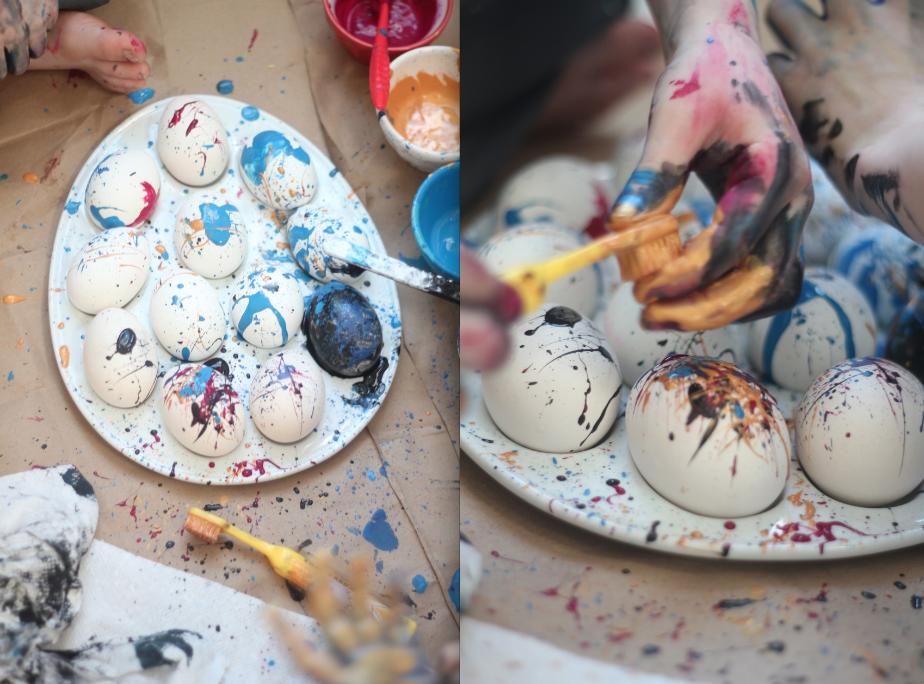 Fun Easter Egg Decorating Baby Love Pinterest Egg