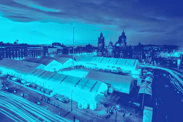 Llega Aldea Digital al Zócalo de la Ciudad de México