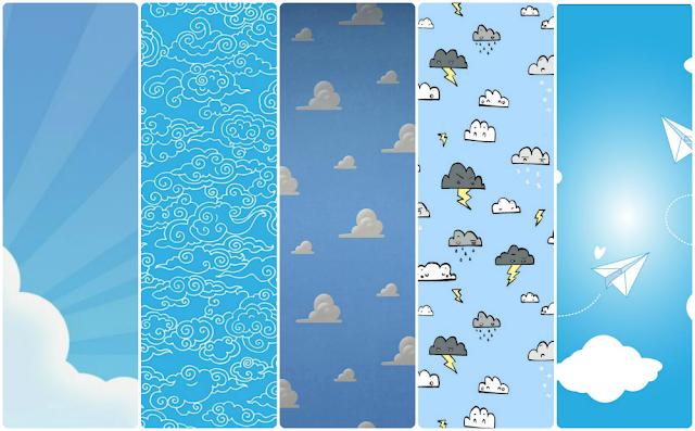 fondos de pantalla nubes clouds chulos para el móvil celular gratis whatsapp background wallpaper free gratis iphone wallpaper samsung clouds nubes azul cielo sky fondos de pantalla gratis