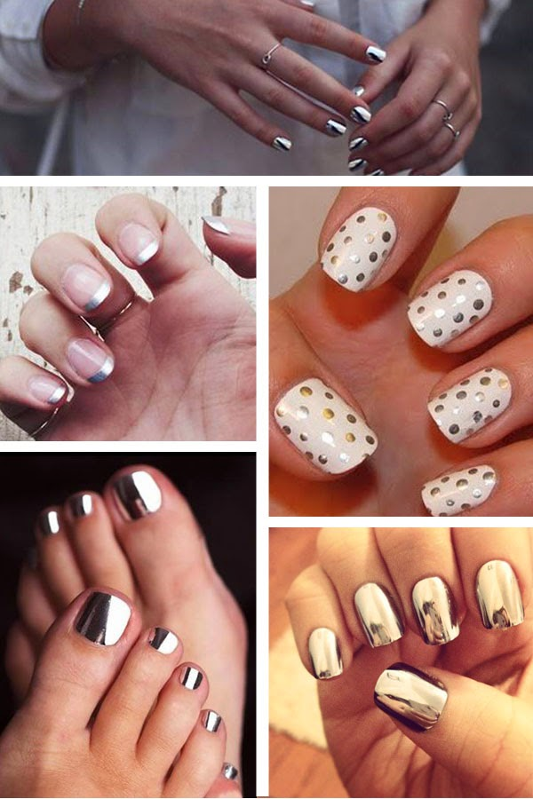 metallic nails | hollywouldblvd.com