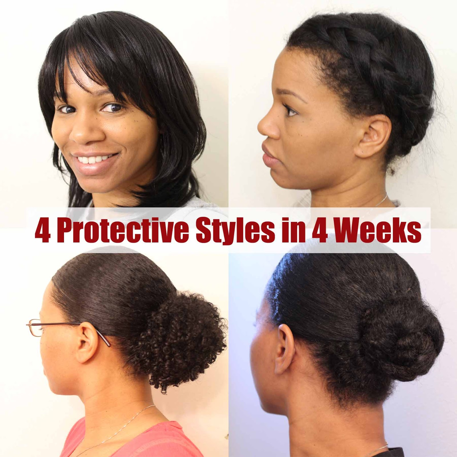 4 Protective Hair Styles In 4 Weeks Curly In Colorado