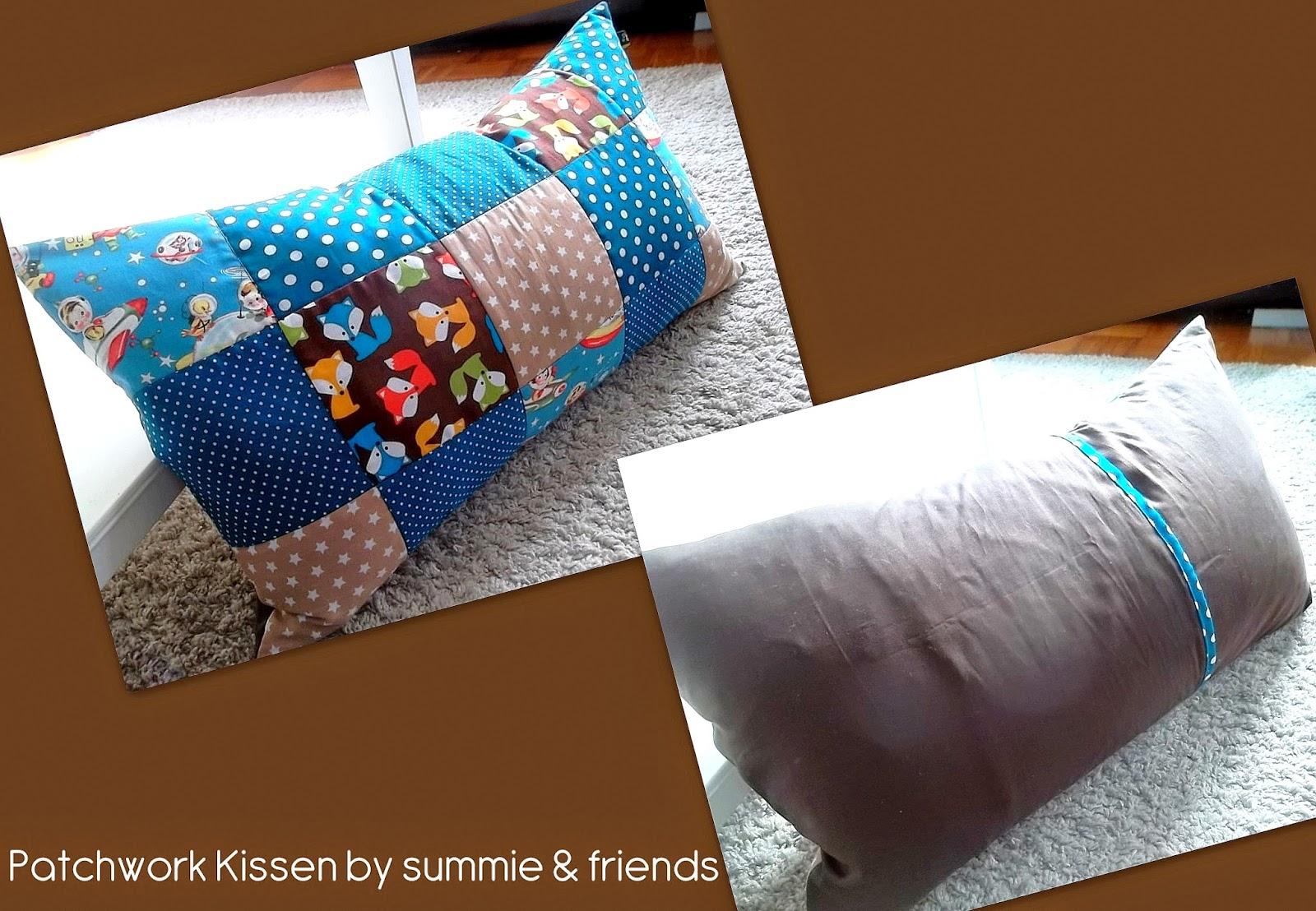 summie and friends patchworkdecke und kissen. Black Bedroom Furniture Sets. Home Design Ideas