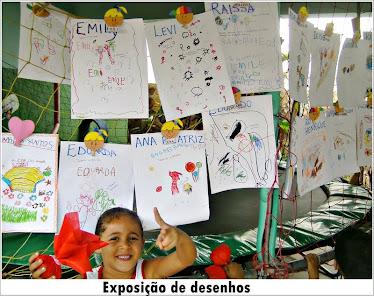 Exposição - Desenho das Crianças