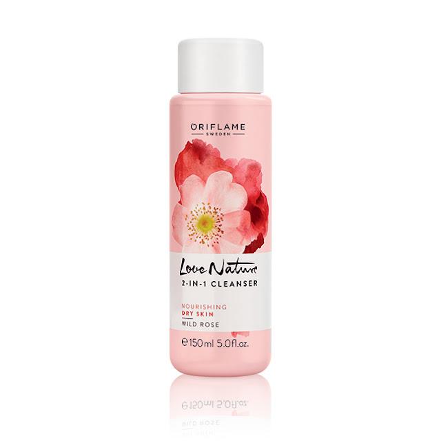 Limpeza 2 em 1 com Rosa Selvagem Love Nature